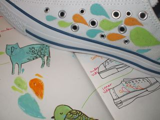 From sketch book to shoe