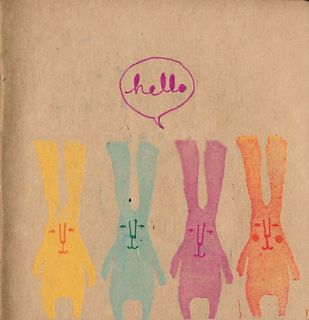 'Hello' said the rabbit