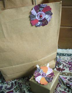 Paper corsages