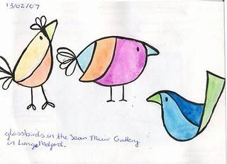 Visual Diary - birds